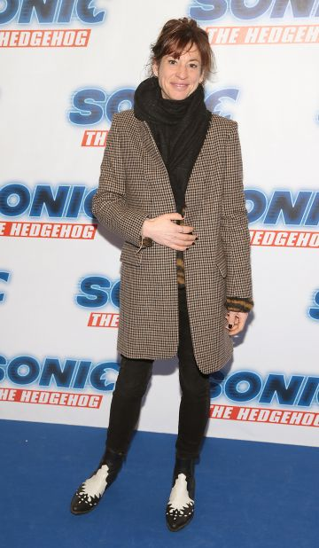 Venetia Quick at the special preview screening of Sonic the Hedgehog Movie at the Odeon Cinema in Point Square, Dublin. Pic: Brian McEvoy