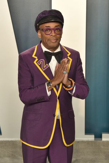Spike Lee attends the 2020 Vanity Fair Oscar Party at Wallis Annenberg Center for the Performing Arts on February 09, 2020 in Beverly Hills, California. (Photo by David Crotty/Patrick McMullan via Getty Images)