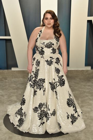 Beanie Feldstein attends the 2020 Vanity Fair Oscar Party at Wallis Annenberg Center for the Performing Arts on February 09, 2020 in Beverly Hills, California. (Photo by David Crotty/Patrick McMullan via Getty Images)