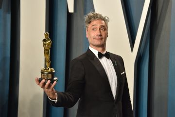Taika Waititi attends the 2020 Vanity Fair Oscar Party at Wallis Annenberg Center for the Performing Arts on February 09, 2020 in Beverly Hills, California. (Photo by David Crotty/Patrick McMullan via Getty Images)