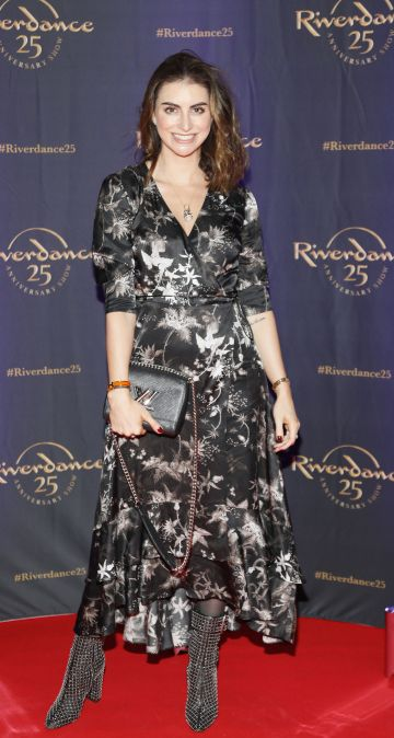 Ellen Sherry at the historic gala performance of Riverdance 25th Anniversary show at 3Arena Dublin exactly 25 years to the day that Riverdance was first performed at the Point Depot.  Photo: Kieran Harnett