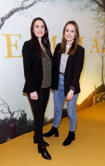 Alison and Kate O'Hanlon pictured at a special preview screening of EMMA, a delicious new adaptation of Jane Austen's beloved comedy, at Light House Cinema, Dublin Picture Andres Poveda