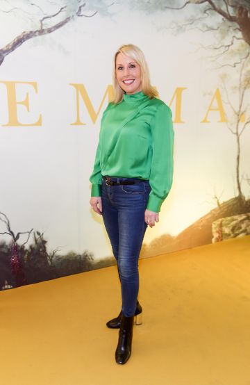 Romy Carroll pictured at a special preview screening of EMMA, a delicious new adaptation of Jane Austen's beloved comedy, at Light House Cinema, Dublin Picture Andres Poveda