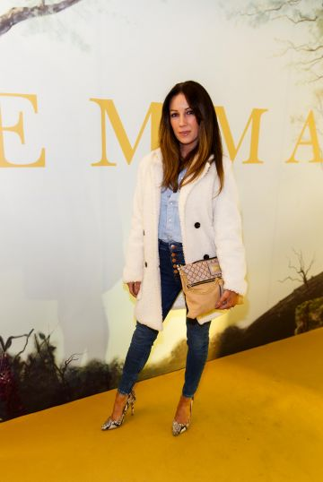 Claire Tenwick pictured at a special preview screening of EMMA, a delicious new adaptation of Jane Austen's beloved comedy, at Light House Cinema, Dublin Picture Andres Poveda