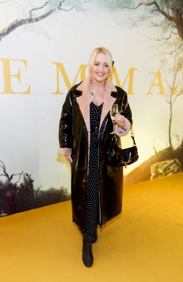 Laura Mullett pictured at a special preview screening of EMMA, a delicious new adaptation of Jane Austen's beloved comedy, at Light House Cinema, Dublin Picture Andres Poveda