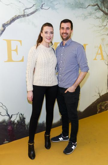 Laura-Jayne Halton and Ronan O'Brien pictured at a special preview screening of EMMA, a delicious new adaptation of Jane Austen's beloved comedy, at Light House Cinema, Dublin Picture Andres Poveda