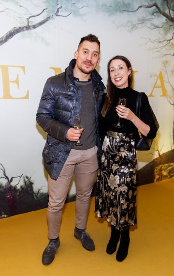 Andrea Gardiman and Orla Eustace pictured at a special preview screening of EMMA, a delicious new adaptation of Jane Austen's beloved comedy, at Light House Cinema, Dublin Picture Andres Poveda