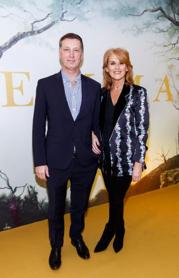 Rob Ferry and Roisin O'Hea pictured at a special preview screening of EMMA, a delicious new adaptation of Jane Austen's beloved comedy, at Light House Cinema, Dublin Picture Andres Poveda