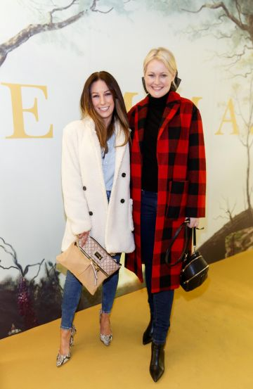 Claire Tenwick and Lorna Weightman pictured at a special preview screening of EMMA, a delicious new adaptation of Jane Austen's beloved comedy, at Light House Cinema, Dublin Picture Andres Poveda