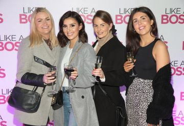 Guests pictured at the special preview screening of Like A Boss at the Lighthouse Cinema, Dublin. Pic: Brian McEvoy