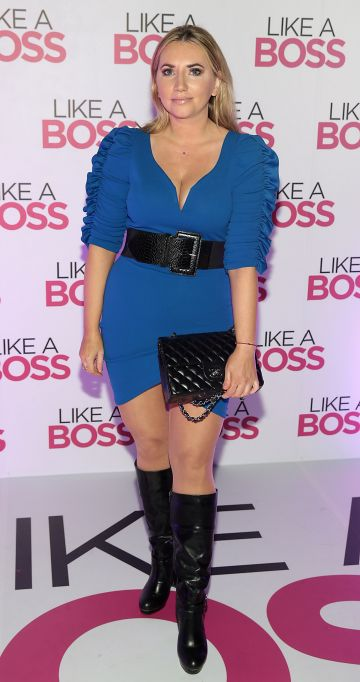 Monica Walsh at the special preview screening of Like A Boss at the Lighthouse Cinema, Dublin. Pic: Brian McEvoy