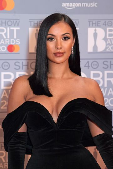 Maya Jama attends The BRIT Awards 2020 at The O2 Arena on February 18, 2020 in London, England.  (Photo by David M. Benett/Dave Benett/Getty Images)