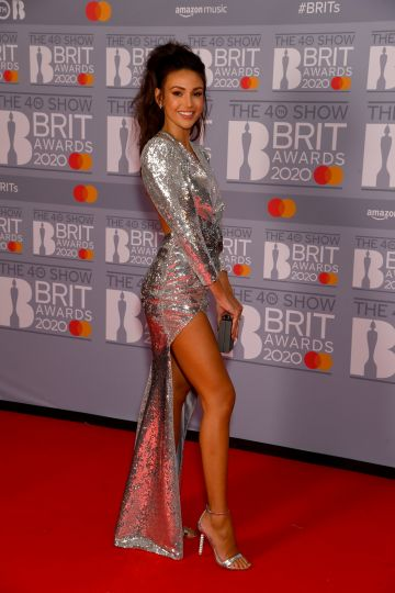 Michelle Keegan attends The BRIT Awards 2020 at The O2 Arena on February 18, 2020 in London, England. (Photo by Dave J Hogan/Getty Images)