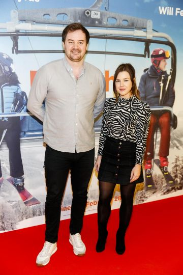 Cormac Moore and Saoirse Long pictured at a special preview screening of Downhill at the Light House Cinema, Dublin. Picture: Andres Poveda.