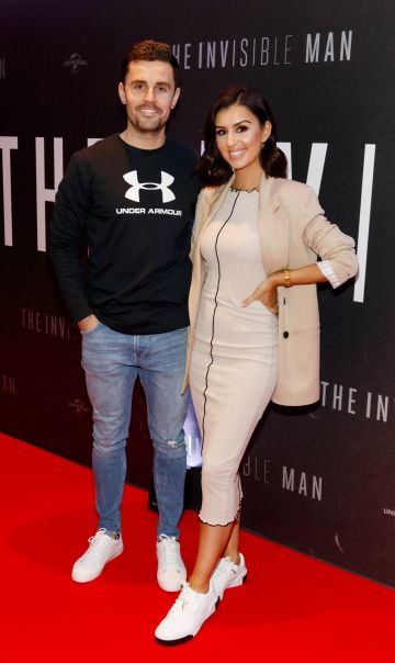 David Fitzpatrick and Terrie McEvoy-Fitzpatrick pictured at a special preview screening of The Invisible Man at Light House Cinema, Dublin. Picture: Andres Poveda.