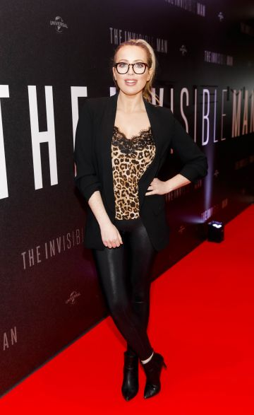 AJ Fitszimons pictured at a special preview screening of The Invisible Man at Light House Cinema, Dublin. Picture: Andres Poveda.