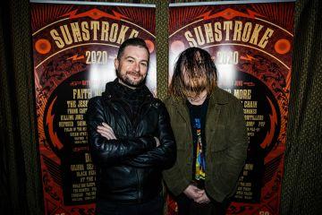 Fergal Darcy of TodayFM and Stevin King of Fangclub at Sunstroke Launch 2020 . ©Glen Bollard / MCD