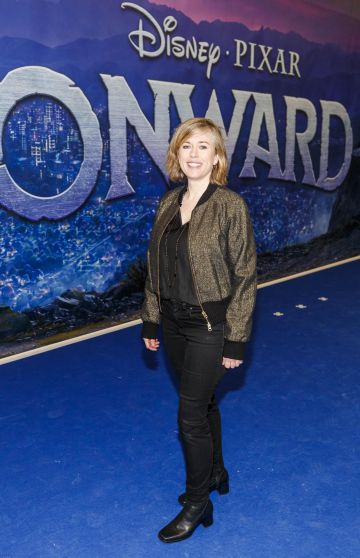 Lesley Conroy pictured at the special preview screening of Disney Pixar's Onwards in the Odeon Point Village.  Picture: Andres Poveda