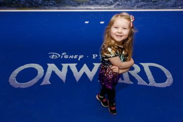 Tippi Stafford (4) pictured at the special preview screening of Disney Pixar's Onwards in the Odeon Point Village.  Picture: Andres Poveda