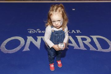 Sophia Mustata (3) from Dublin pictured at the special preview screening of Disney Pixar's Onwards in the Odeon Point Village.  Picture: Andres Poveda