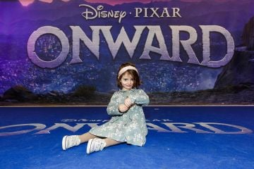Sienna McConnell (3) from Ballinteer pictured at the special preview screening of Disney Pixar's Onwards in the Odeon Point Village.  Picture: Andres Poveda