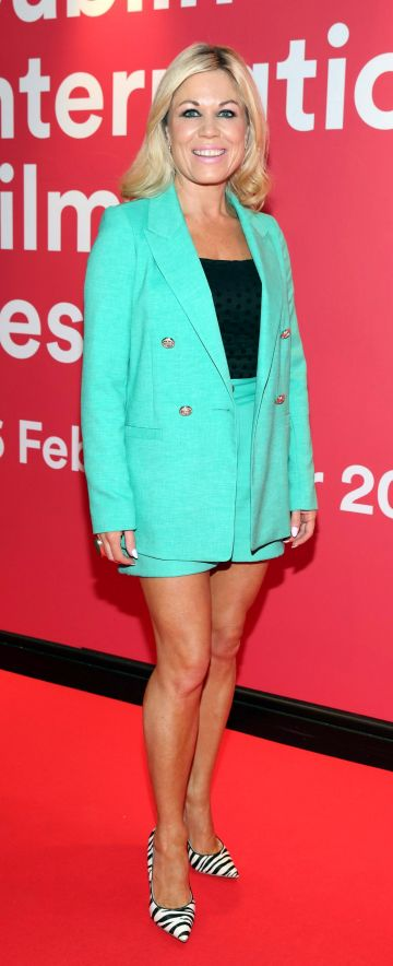 Natalie Bolger at the Virgin Media Dublin International Film Festival Irish Premiere screening of Street Leagues at Cineworld Dublin. Pic: Brian McEvoy Photography