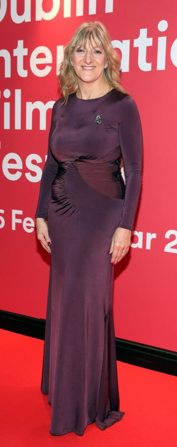 Frances Kavanagh at the Virgin Media Dublin International Film Festival Irish Premiere screening of Street Leagues at Cineworld Dublin. Pic: Brian McEvoy Photography