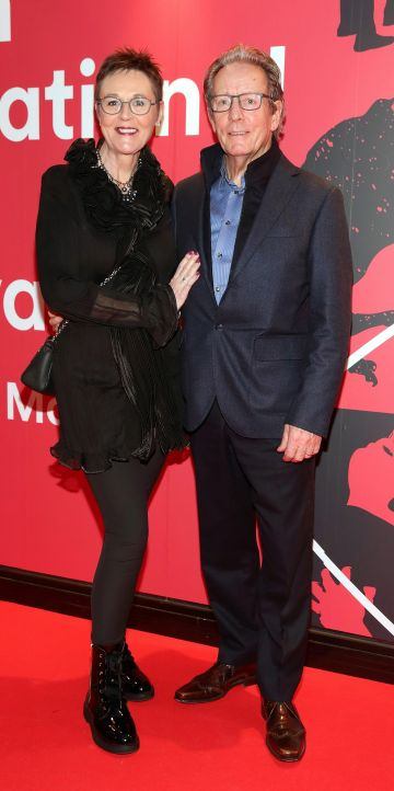 Rita McConaghy and Sean McConaghy at the Virgin Media Dublin International Film Festival Irish Premiere screening of Street Leagues at Cineworld Dublin. Pic: Brian McEvoy Photography