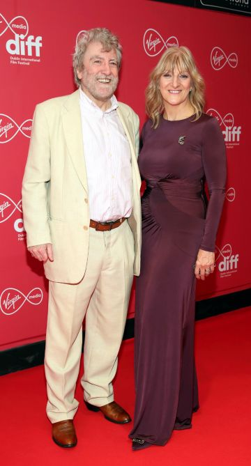 Sean Kavanagh and Frances Kavanagh at the Virgin Media Dublin International Film Festival Irish Premiere screening of Street Leagues at Cineworld Dublin. Pic: Brian McEvoy Photography
