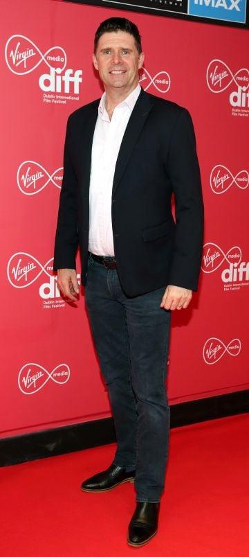 Niall Quinn at the Virgin Media Dublin International Film Festival Irish Premiere screening of Street Leagues at Cineworld Dublin. Pic: Brian McEvoy Photography