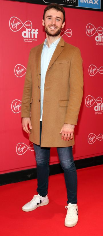 Michael Quinn at the Virgin Media Dublin International Film Festival Irish Premiere screening of Street Leagues at Cineworld Dublin. Pic: Brian McEvoy Photography