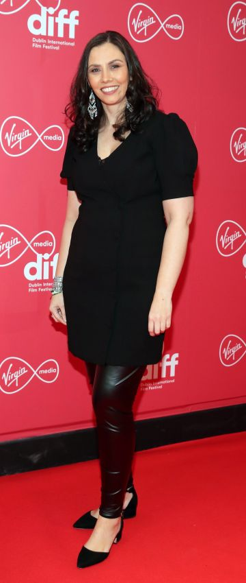 Wendy Stunt at the Virgin Media Dublin International Film Festival Irish Premiere screening of Street Leagues at Cineworld Dublin. Pic: Brian McEvoy Photography