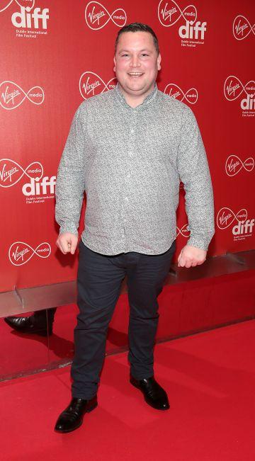 John Connors at the Virgin Media Dublin International Film Festival Irish Premiere of Innocent Boy at the Lighthouse Cinema, Dublin. Pic: Brian McEvoy.