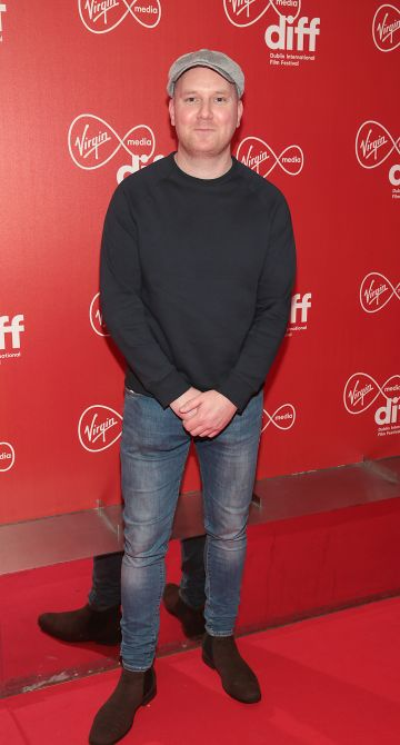 Sean Kelly at the Virgin Media Dublin International Film Festival Irish Premiere of Innocent Boy at the Lighthouse Cinema, Dublin. Pic: Brian McEvoy.