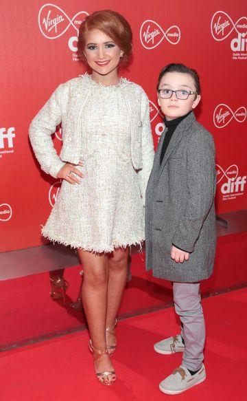 Elizabeth O Leary and Martin O'Leary at the Virgin Media Dublin International Film Festival Irish Premiere of Innocent Boy at the Lighthouse Cinema, Dublin. Pic: Brian McEvoy.