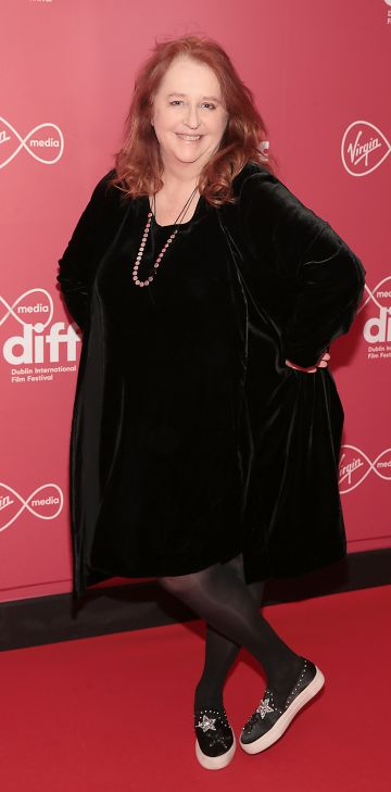 Mary Coughlan at the World Premiere of Citizens of Boomtown at the Virgin Media Dublin International Film Festival at Cineworld, Dublin. Pic: Brian McEvoy Photography.
