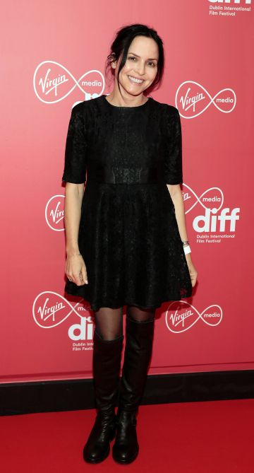 Andrea Corr at the World Premiere of Citizens of Boomtown at the Virgin Media Dublin International Film Festival at Cineworld, Dublin. Pic: Brian McEvoy Photography.