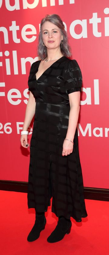 Ciara Scullion  at the World Premiere of Citizens of Boomtown at the Virgin Media Dublin International Film Festival at Cineworld, Dublin. Pic: Brian McEvoy Photography.