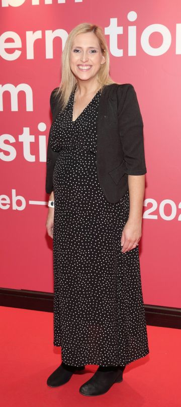 Pamela Lee at the World Premiere of Citizens of Boomtown at the Virgin Media Dublin International Film Festival at Cineworld, Dublin. Pic: Brian McEvoy Photography.