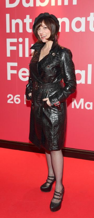 Marie-Therese at the World Premiere of Citizens of Boomtown at the Virgin Media Dublin International Film Festival at Cineworld, Dublin. Pic: Brian McEvoy Photography.