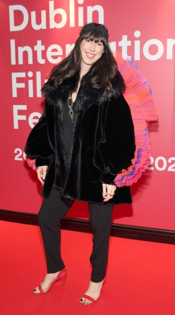 Jane McDaid at the World Premiere of Citizens of Boomtown at the Virgin Media Dublin International Film Festival at Cineworld, Dublin. Pic: Brian McEvoy Photography.