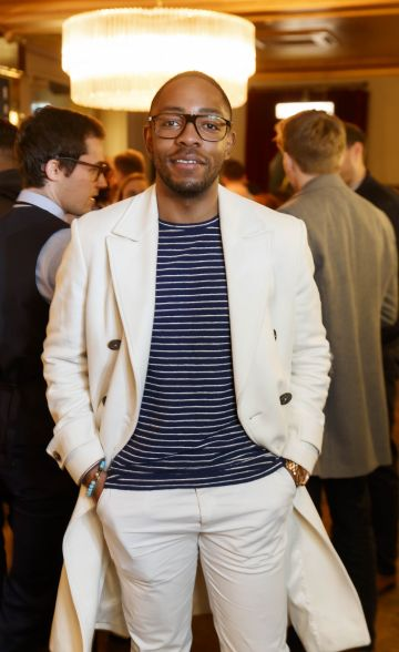 Lawson Mpame at the launch of Cinema di Peroni, celebrating Italy in the movies, and the latest addition to its portfolio Peroni Libera 0.0%. Cinema di Peroni Dublin took place at The Stella Cinema in Rathmines, screening the award nominated The Talented Mr. Ripley. Picture: Andres Poveda