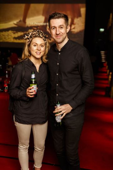 Guests at the launch of Cinema di Peroni, celebrating Italy in the movies, and the latest addition to its portfolio Peroni Libera 0.0%. Cinema di Peroni Dublin took place at The Stella Cinema in Rathmines, screening the award nominated The Talented Mr. Ripley. Picture: Andres Poveda