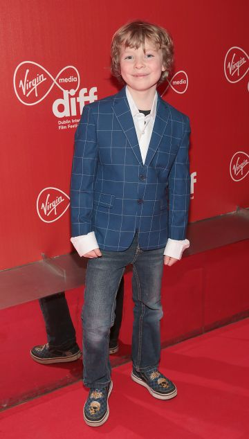 Actor Kiljan  Moroney at the Virgin Media Dublin International Film Festival Irish Premiere screening  of Calm With Horses at the Lighthouse Cinema, Dublin. Picture: Brian McEvoy.