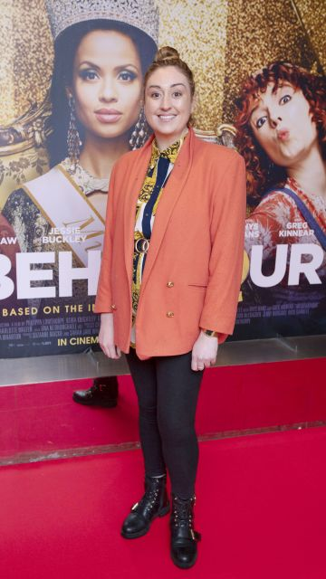 Lynda Burke at the special preview screening of Misbehaviour at the Lighthouse, Cinema,Dublin. Photo: Brian McEvoy Photography.
