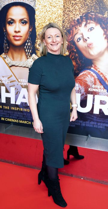 Linda Hannigan at the special preview screening of Misbehaviour at the Lighthouse, Cinema,Dublin. Photo: Brian McEvoy Photography.