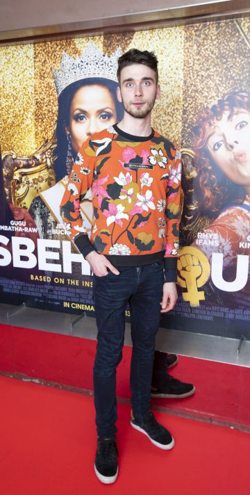 Josip Gojevic at the special preview screening of Misbehaviour at the Lighthouse, Cinema,Dublin. Photo: Brian McEvoy Photography.