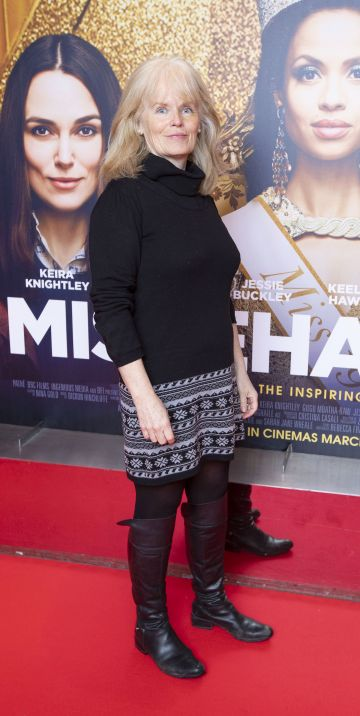 Germaine D'Alton at the special preview screening of Misbehaviour at the Lighthouse, Cinema,Dublin. Photo: Brian McEvoy Photography.