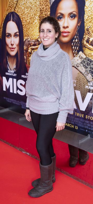 Neda Keshavarz at the special preview screening of Misbehaviour at the Lighthouse, Cinema,Dublin. Photo: Brian McEvoy Photography.