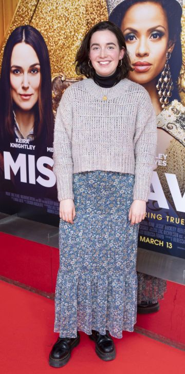 Aoife Fitzpatrick at the special preview screening of Misbehaviour at the Lighthouse, Cinema,Dublin. Photo: Brian McEvoy Photography.